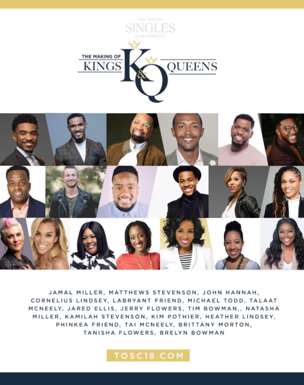 TOSC 2018, singles conference, the online singles conference, Christian singles, Married and Young conference